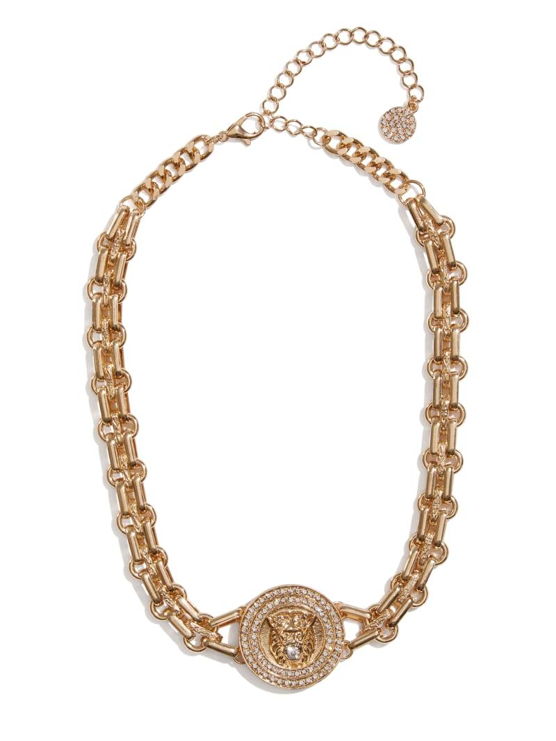 Lion Chainlink Necklace