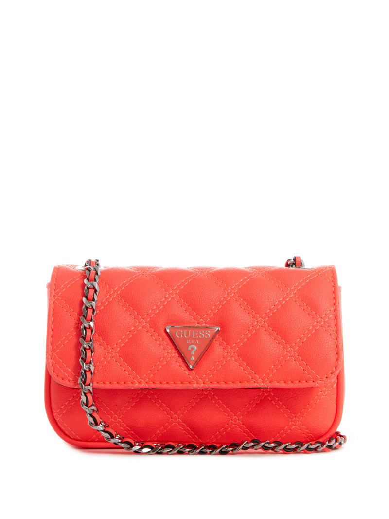 Cessily Neon Quilted Mini Crossbody