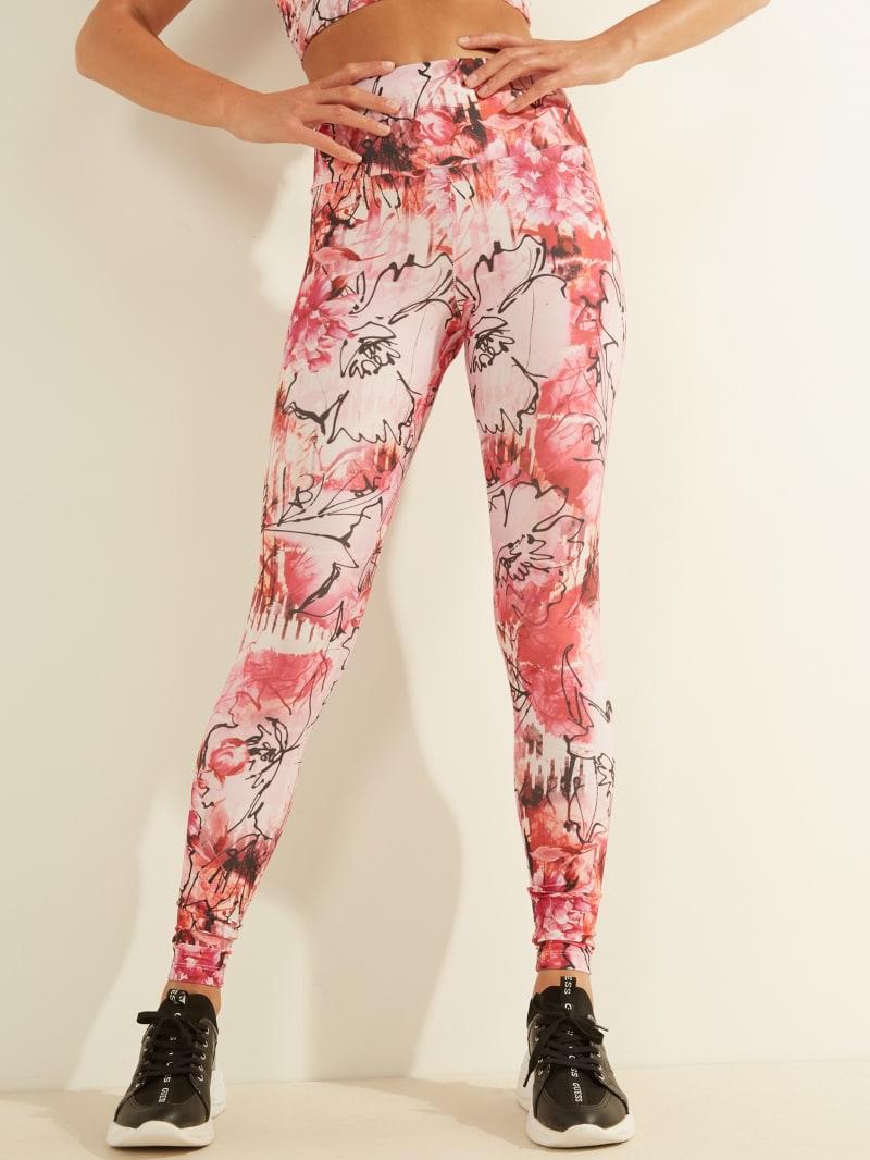 Floral Active Leggings