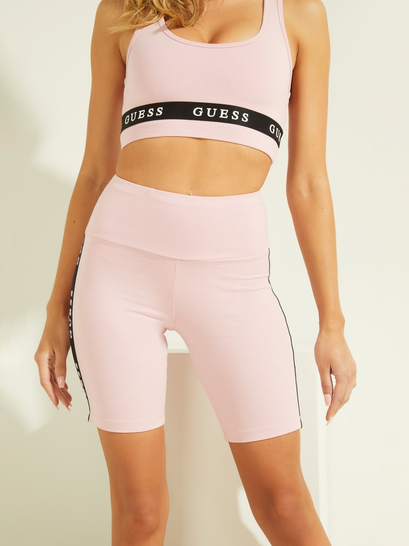 Eco Logo Tape Biker Shorts