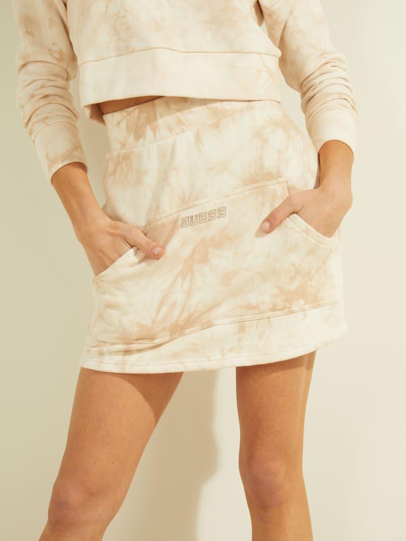 Eco Marble Mini Skirt