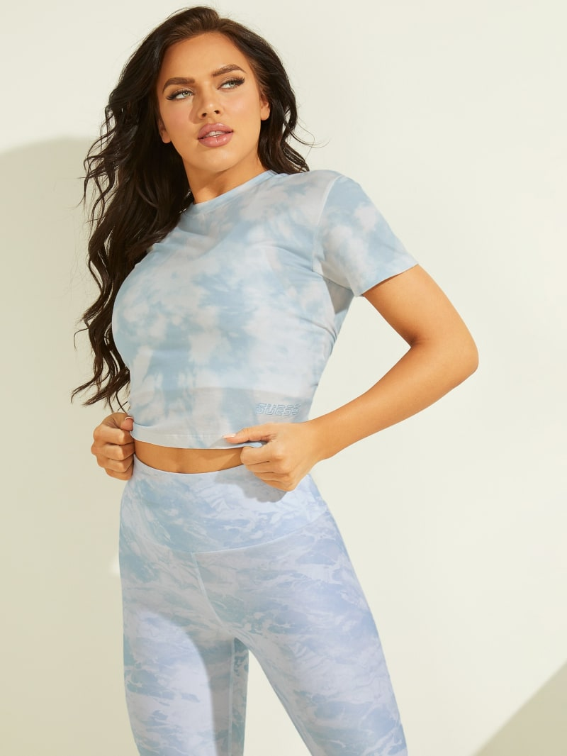 Marble Cropped Tee