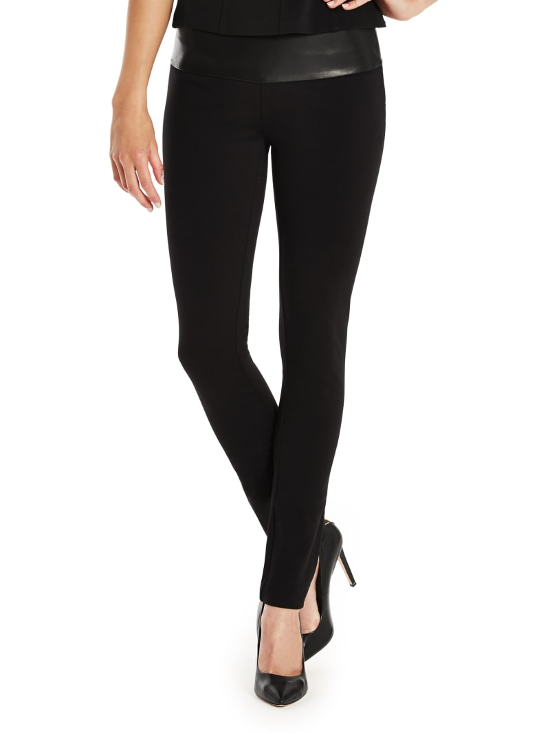 Cassie Leather Skinny Pant
