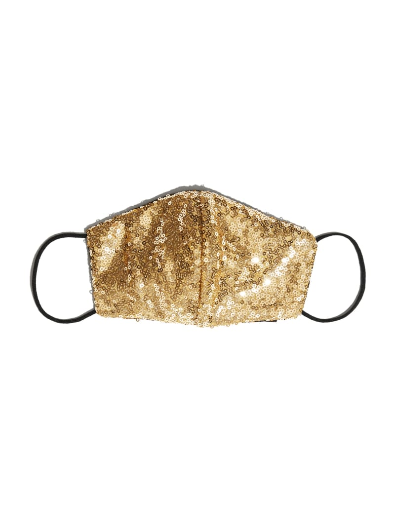 Sequined Face Mask