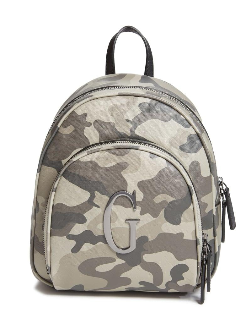 Plummer Camo Logo Backpack