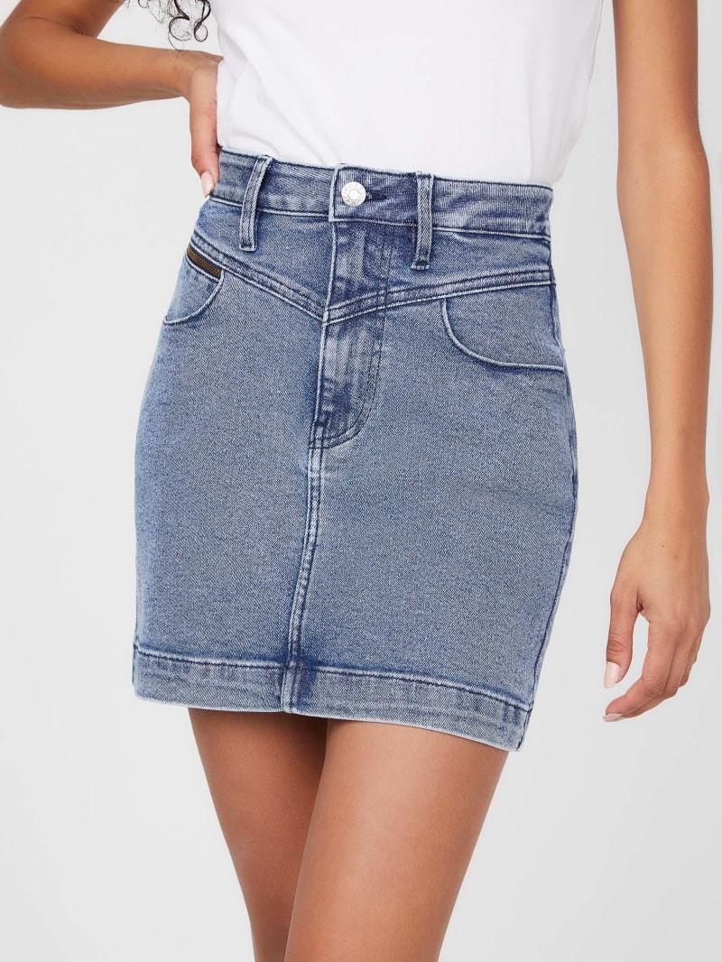 Reye Denim Mini Skirt