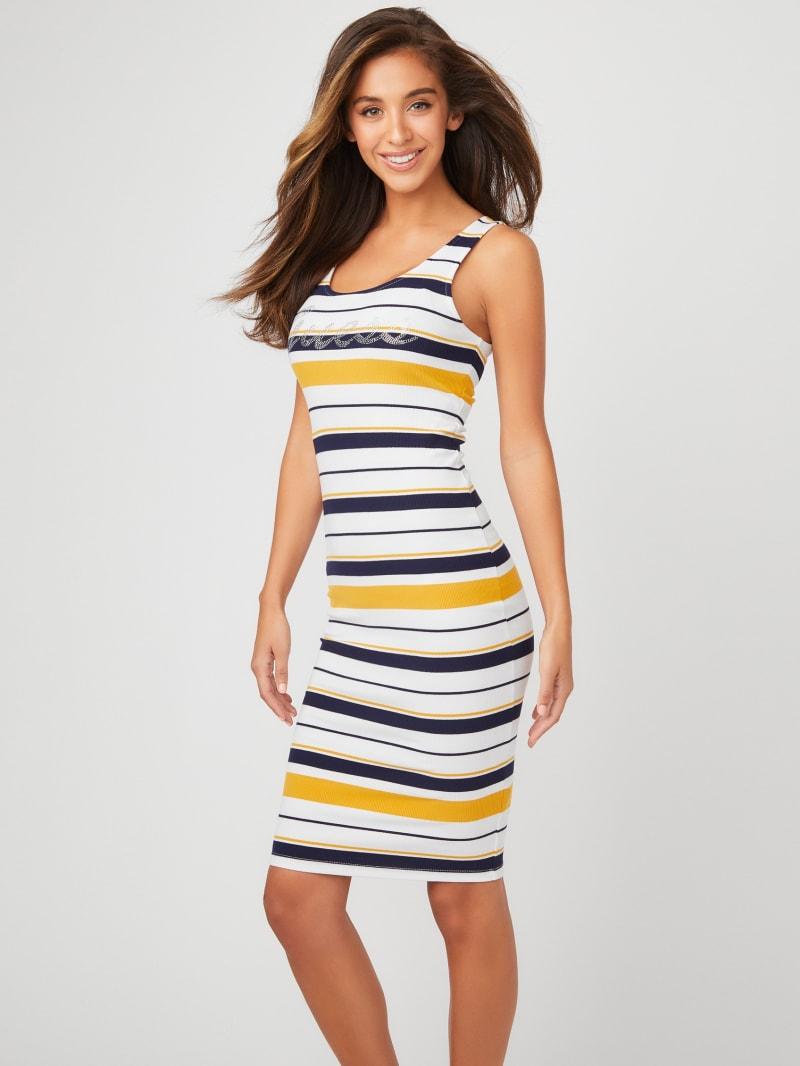 Lexie Striped Midi Dress