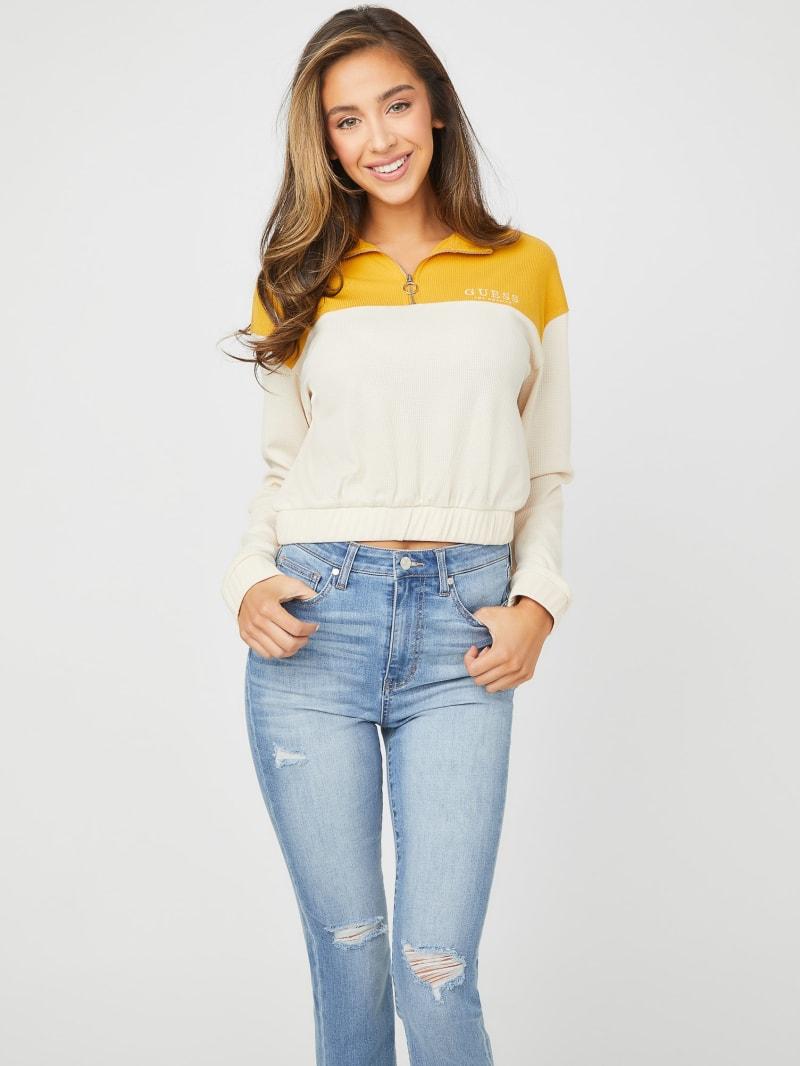 Kenny Zip-Top Pullover Sweatshirt