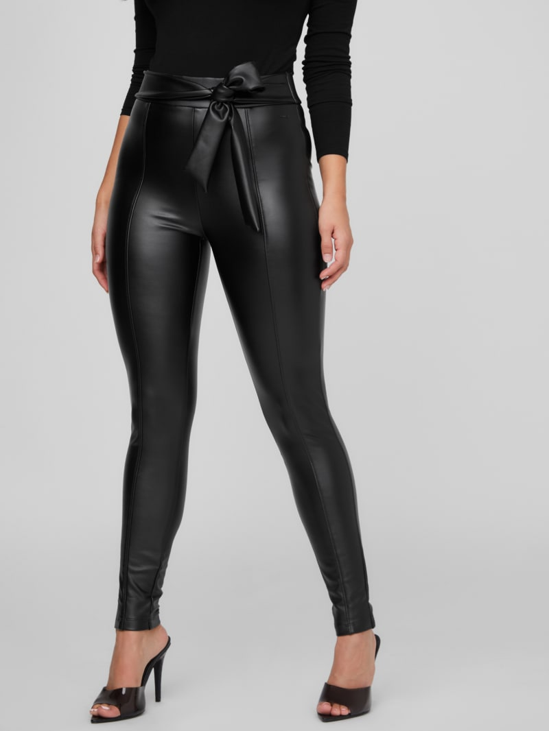 Zimmer Faux-Leather Pants