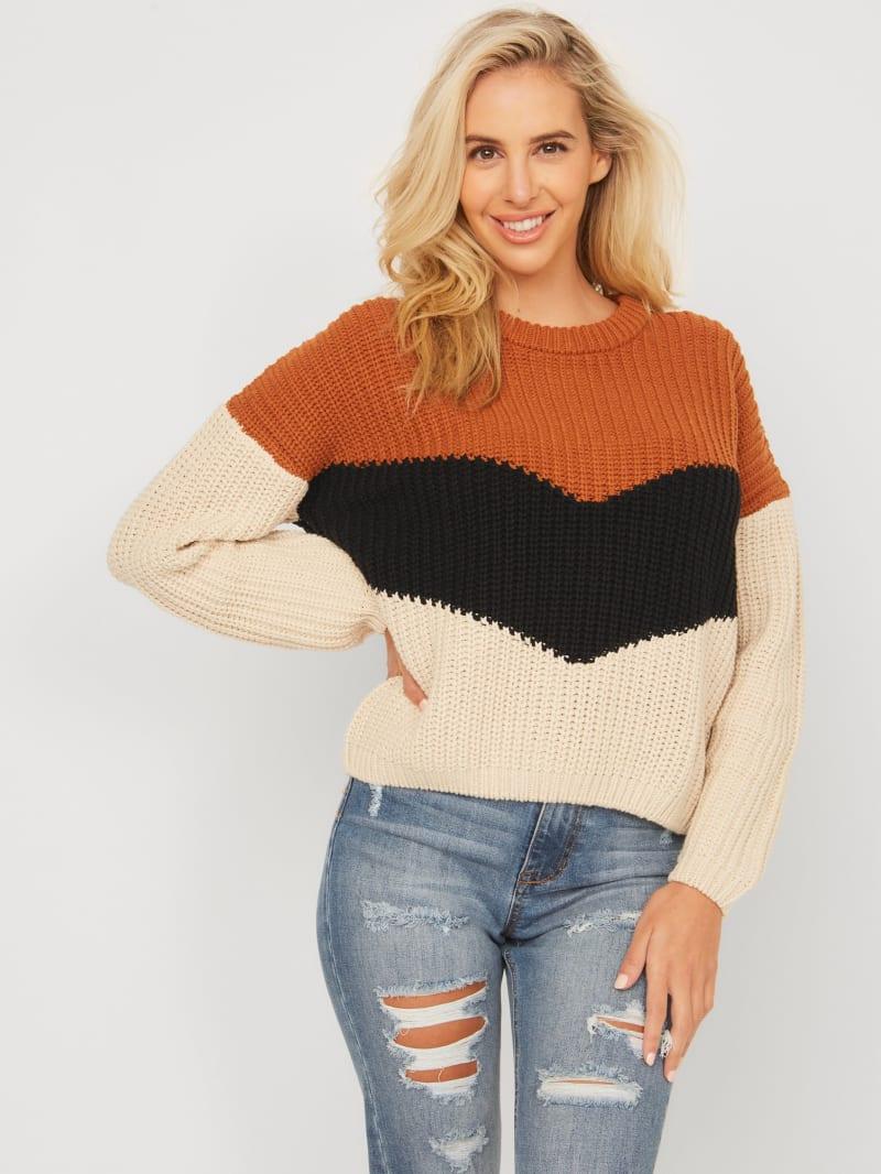 Guess Ls Vittoria Cardigan Sweater Pull Femme