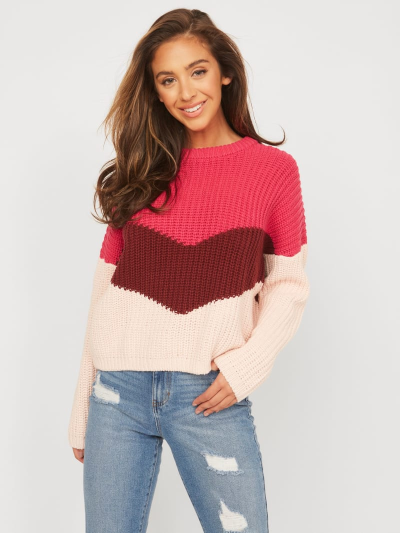 Ember Color-Block Sweater