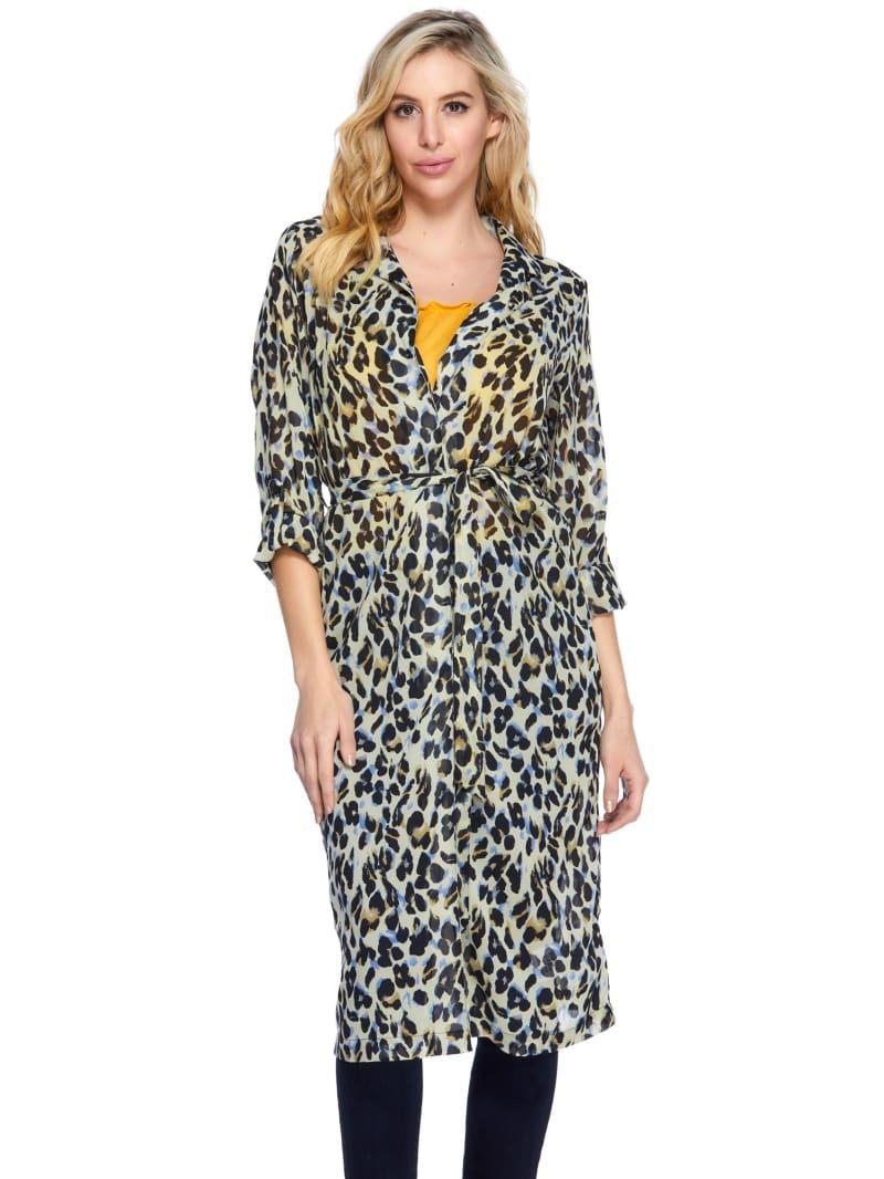 Ghepardo Leopard Tie Duster