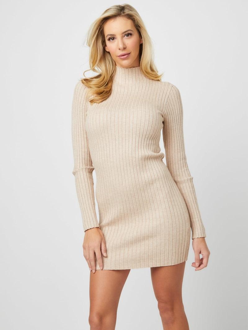 Nabila Ribbed Sweater Dress