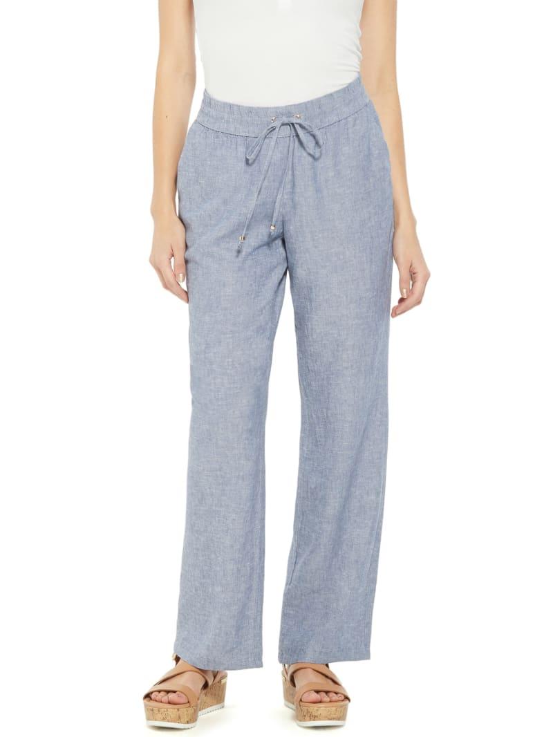 Reagan Woven Linen Pants