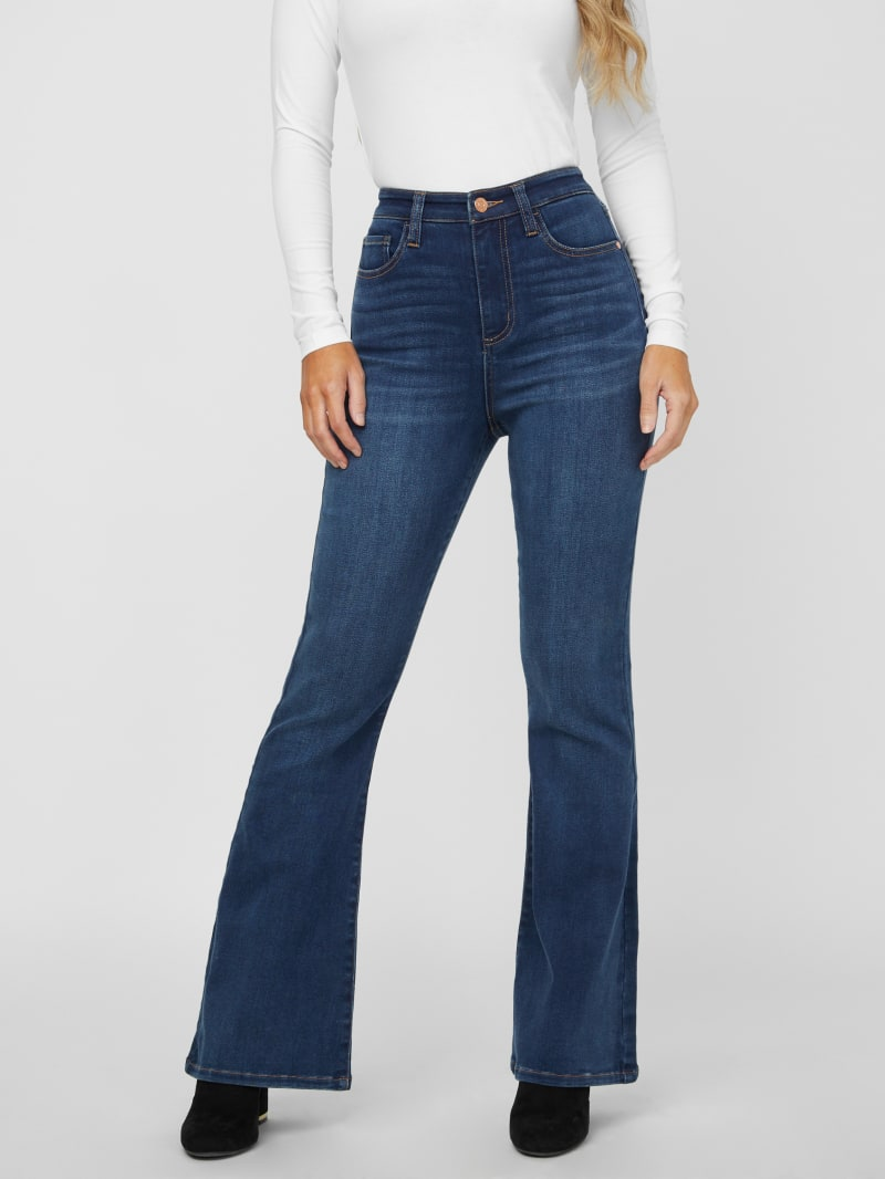 Char High-Rise Flared Jeans