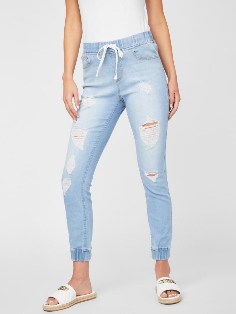 Lanna Destroyed Skinny Joggers