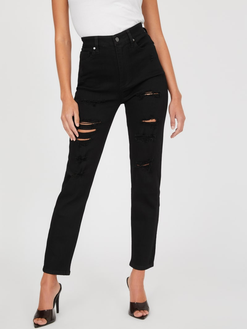 Clark Relaxed High-Rise Skinny Jeans