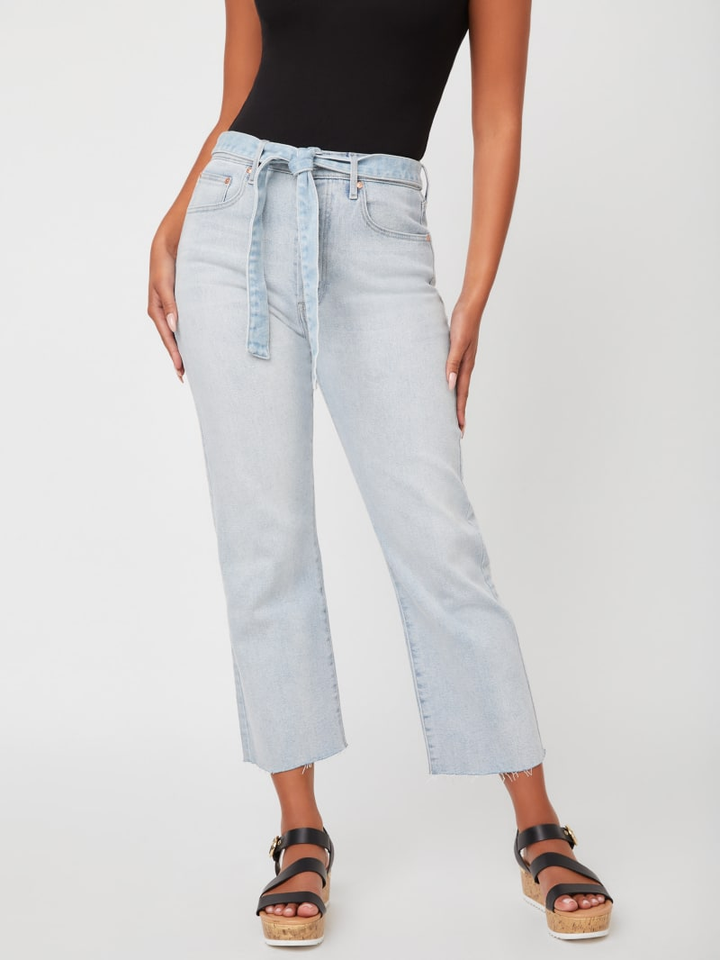 Morley High-Rise Straight Leg Jeans