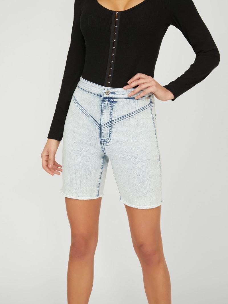 Dela Super High-Rise Cutoff Shorts