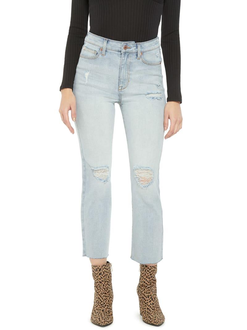 Margo High-Rise Straight Leg Jeans