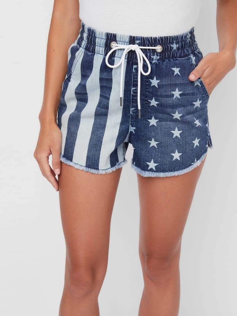 Massey High-Rise Drawstring Shorts