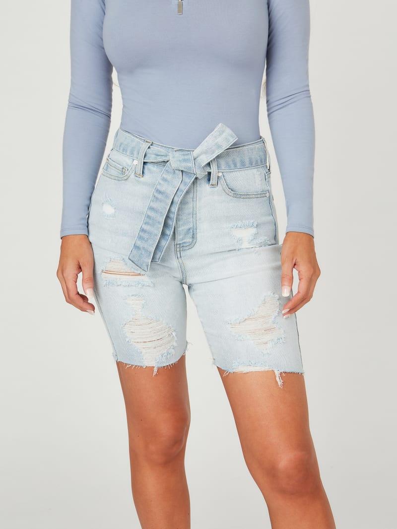 Cara Denim Bermuda Shorts