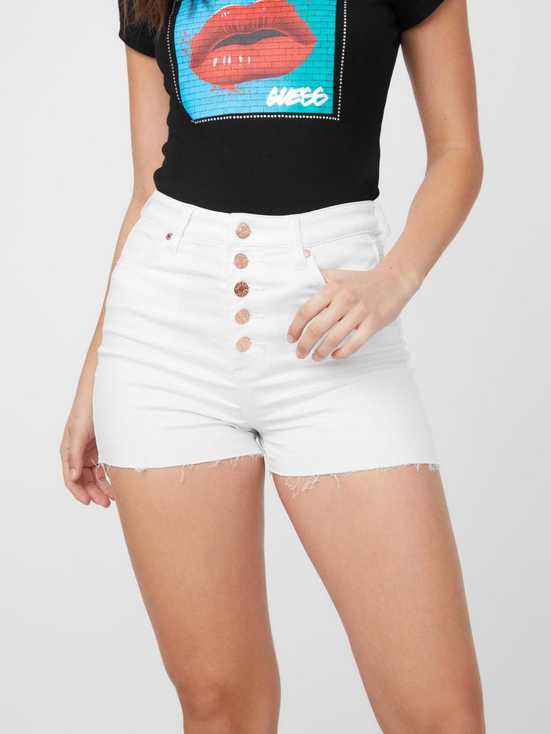 Sophie Logo Embellished Shorts