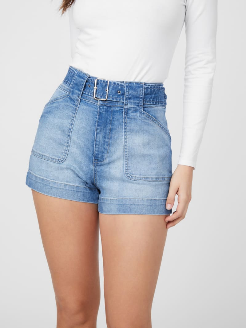 Terry Belted Shorts
