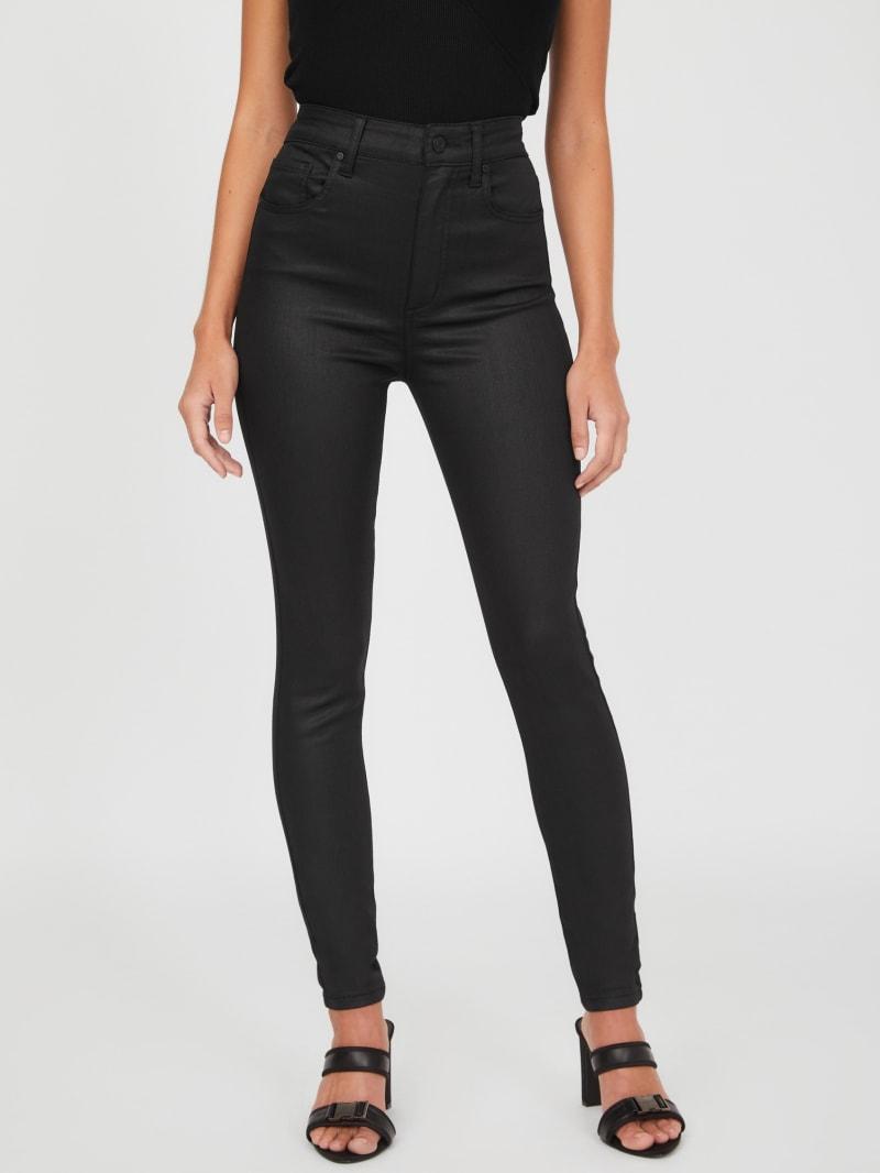 Leinah Coated Skinny Jeans