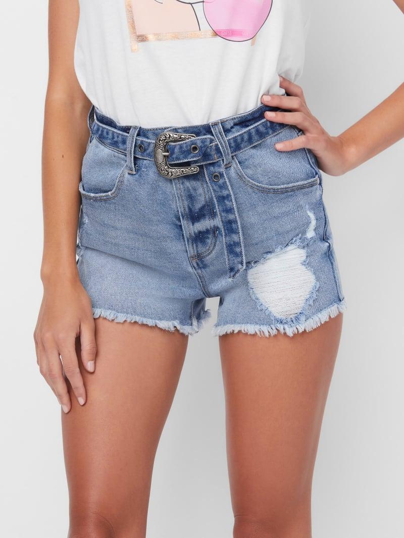 Remy Western Cutoff Denim Shorts