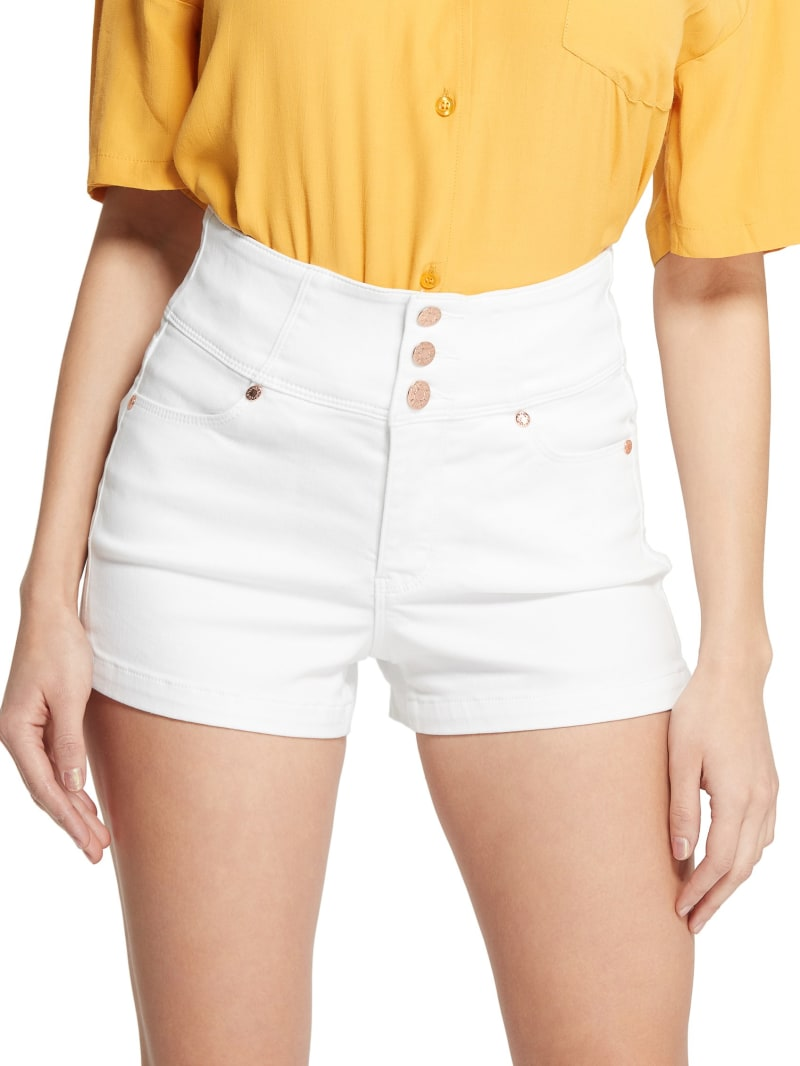 Talysa High-Rise Button Front Shorts