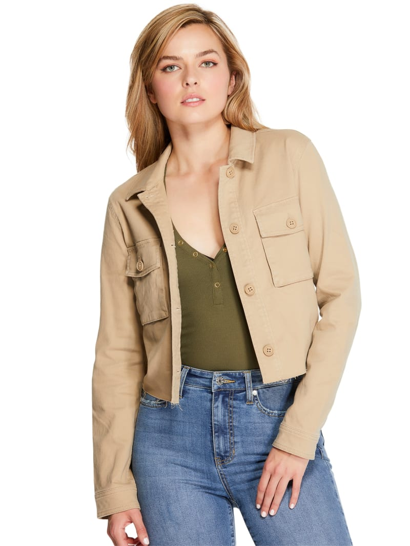 Marnee Cropped Cargo Jacket