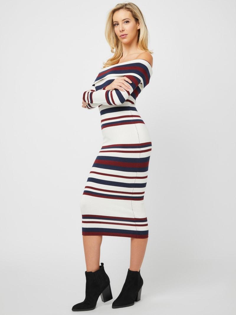 Solan Off-The-Shoulder Midi Dress