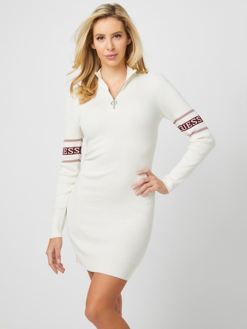 Sindra Long-Sleeve Mini Dress