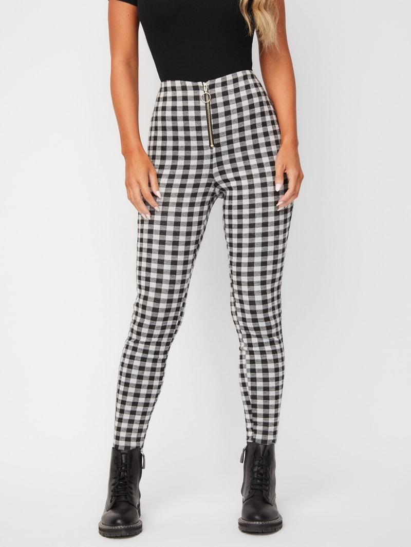Penn Skinny Gingham Pants