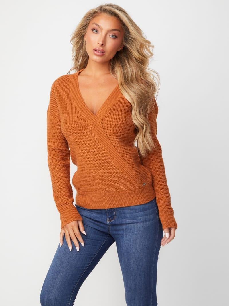 Mardi Surplice Sweater