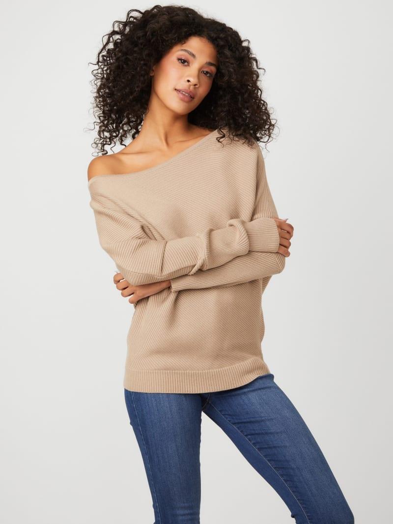 Damsel Off-Shoulder Sweater