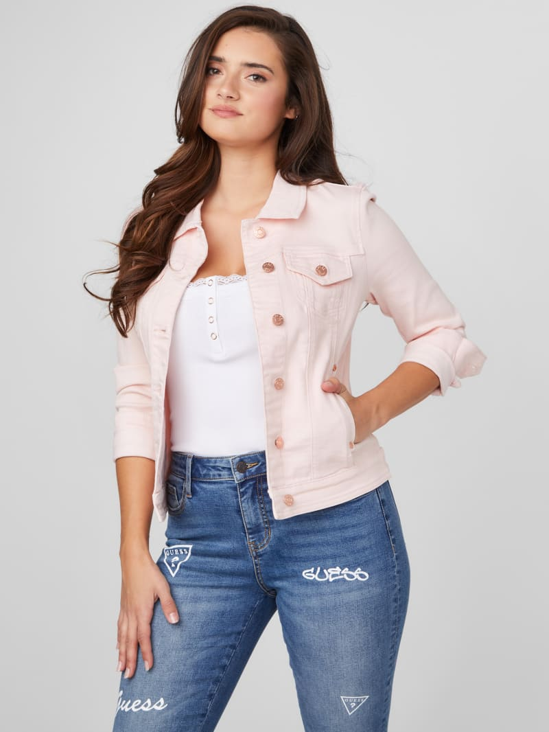 Alisana Pink Denim Jacket