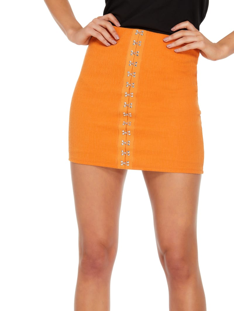 Meek Hook And Eye Mini Skirt