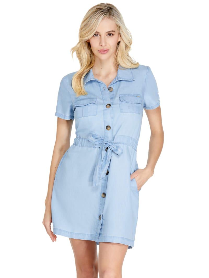 Parker Button-Front Shirtdress