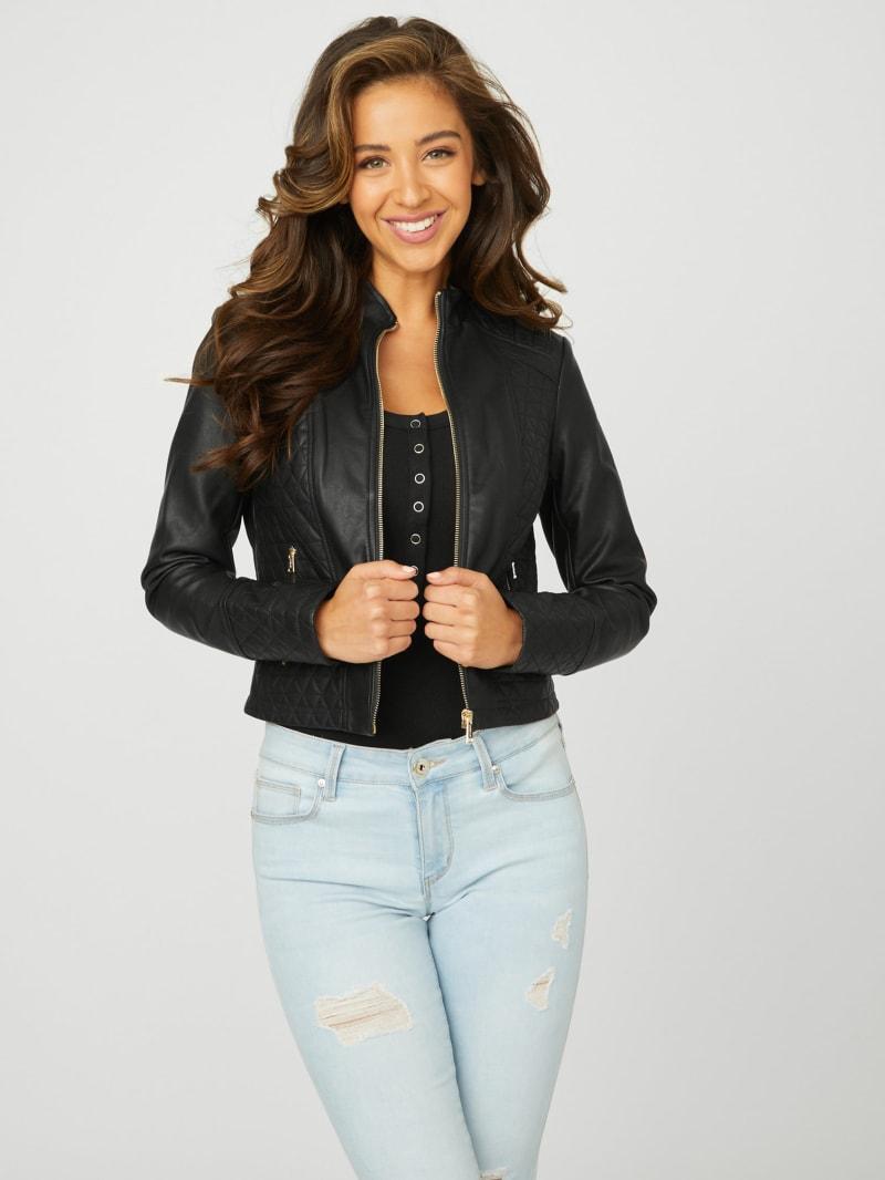 Edan Faux-Leather Jacket