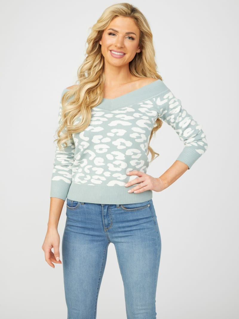Kade Off-Shoulder Sweater Top