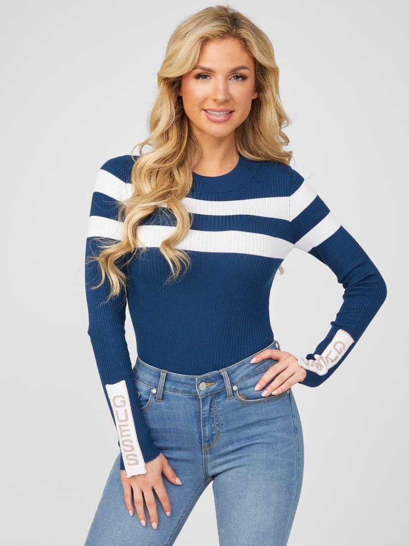 Peg Stripe Sweater