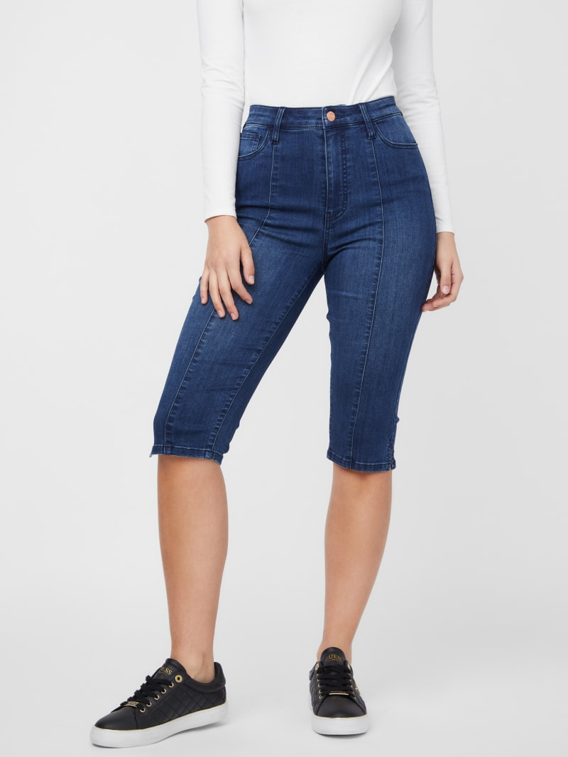 Thessy Cropped Capri Jeans