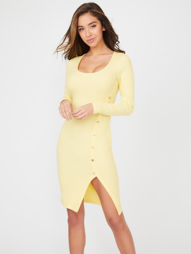 Briana Long-Sleeve Dress