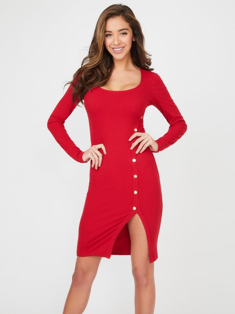 Briana Long-Sleeve Dress