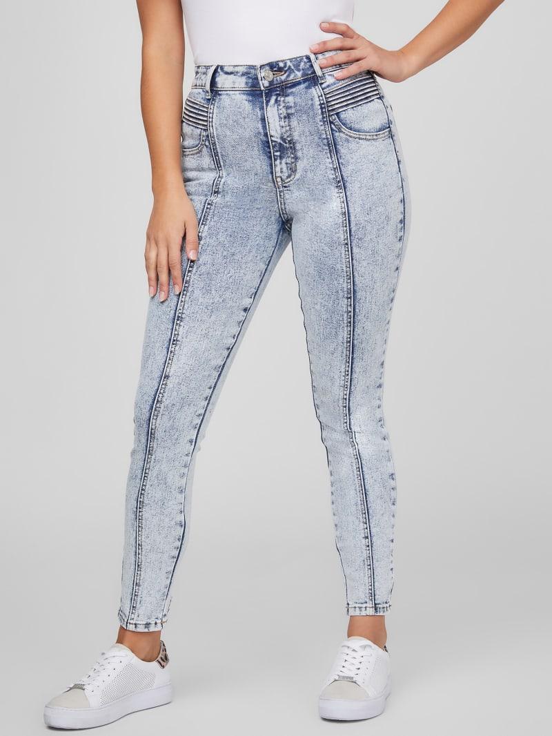 Larea Seamed Skinny Jeans