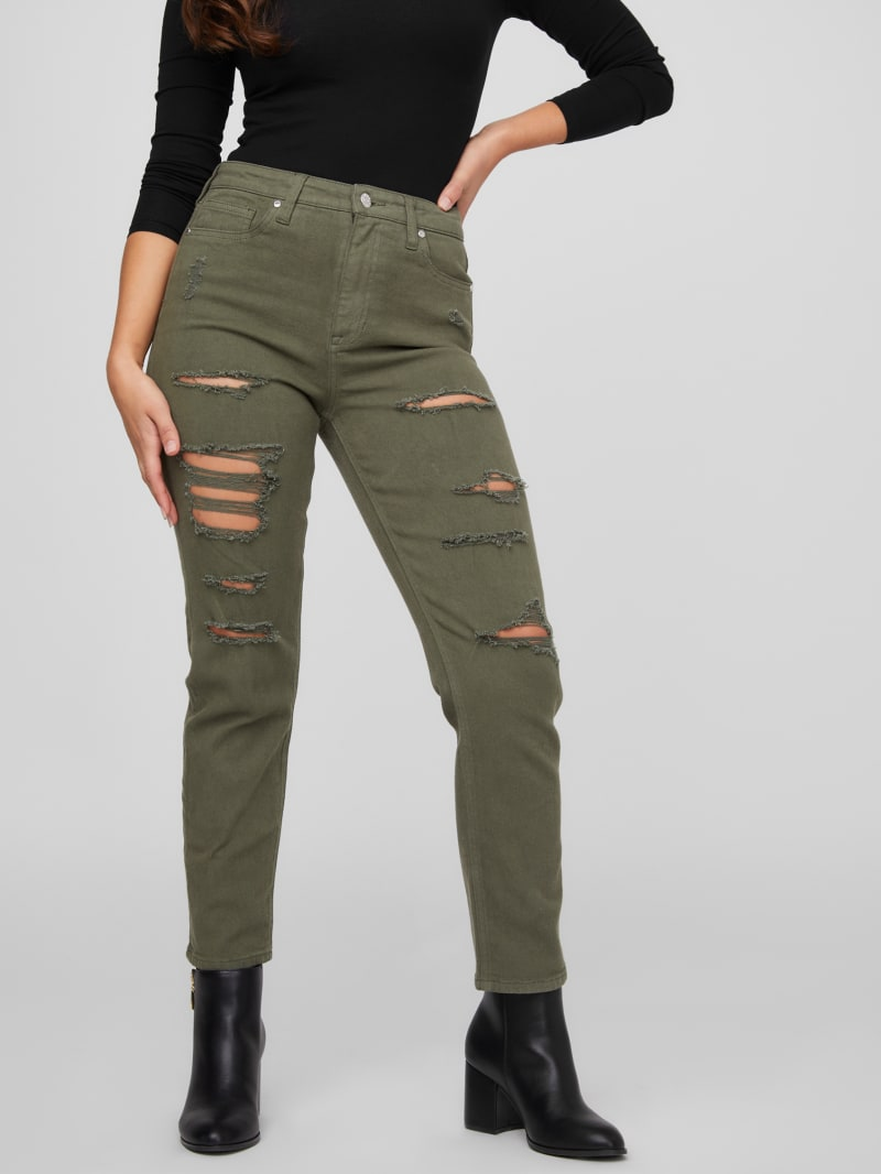 Clark Relaxed Destroyed Jeans