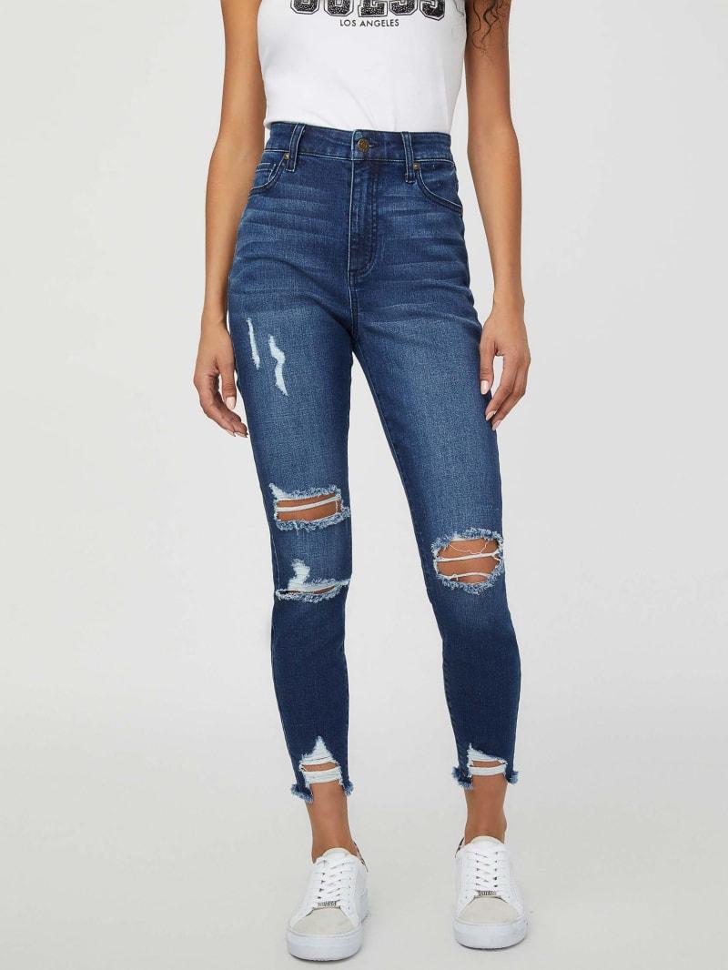 Lelie Destroyed Skinny Jeans
