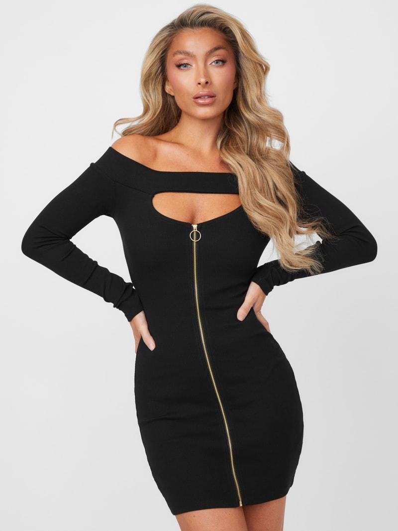 Ackeley Off-The-Shoulder Dress